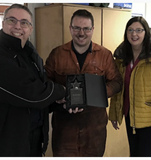 Jonathan Valentine - Stegta Excellence Awards